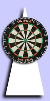 Target Pro Tour - Bristle Dart Board