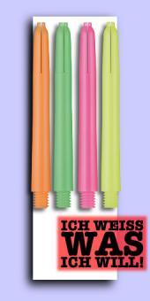 Nylon Neon Deflectagrip Shafts - Medium