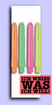 Nylon Neon Deflectagrip Shafts - Short