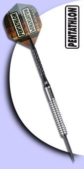 Pentathlon Classic - 90 % Tungsten (Wolfram) Steel Tip Darts - 19 Gramm