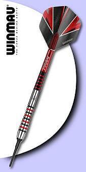 Winmau - Dennis Priestley World Champion Series 90% Tungsten (Wolfram) - Soft Tip Darts.