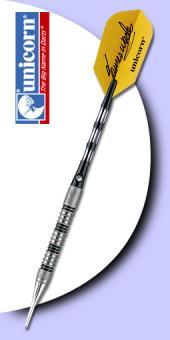 Unicorn - James Wade Maestro Premier Natural 90% Tungsten (Wolfram) - Soft Tip Darts 20 Gramm.