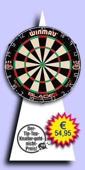Darter's Best bestes Angebot - Winmau - Blade 4 Dual Core Bristle Dartboard