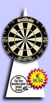 Darter's Best bestes Angebot - Winmau - Blade Dual Core Champion's Choice Bristle Trainings-Dartboard