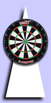 One80 - Gladiator 3 - Bristle Dart Board