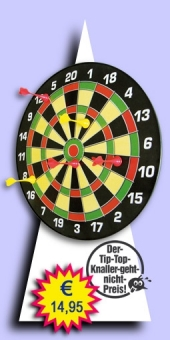 Darter's Best bestes Angebot - Magnetic Dartboard