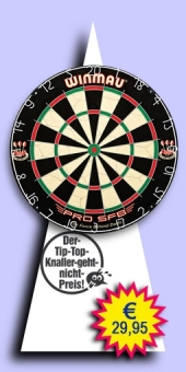 Darter's Best bestes Angebot - Winmau - Pro SFB Bristle Dartboard
