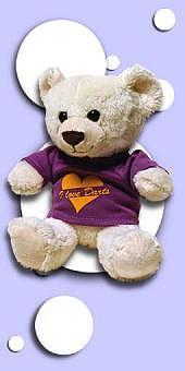 "Dart-Teddy ""Mia"""