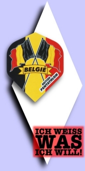Neu im September - Pentathlon Flags (Fahnen) - 100 Mikron Standard Flights - Belgien