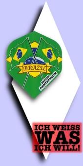 Neu im September - Pentathlon Flags (Fahnen) - 100 Mikron Standard Flights - Brasilien