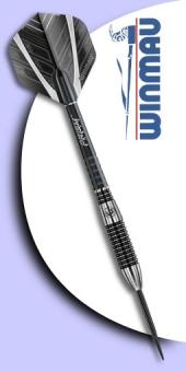 Winmau - Blackout Torpedo 90% Tungsten (Wolfram) - Steel Tip Darts