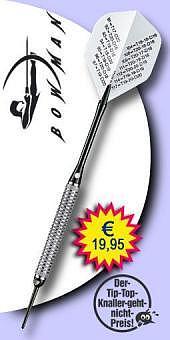 Darter's Best bestes Angebot - Bowman - Checker 80% Tungsten (Wolfram) - Soft Tip Darts