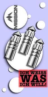 Mission - F-Protect Aluminium Flight Protektoren - Silber