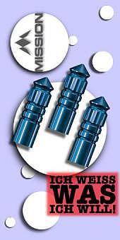Neu im März - Mission - F-Protect Anodised Aluminium Flight Protektoren - Blau