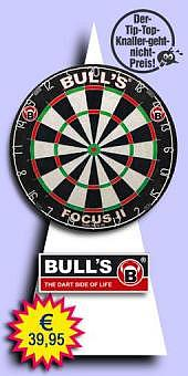Darter's Best bestes Angebot - Bull's - Focus II Bristle Dartboard