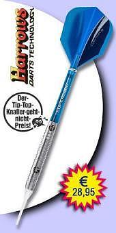 Darter's Best bestes Angebot - Harrows - Genesis Style A Tungsten (Wolfram) Soft Tip Darts - 18 Gramm